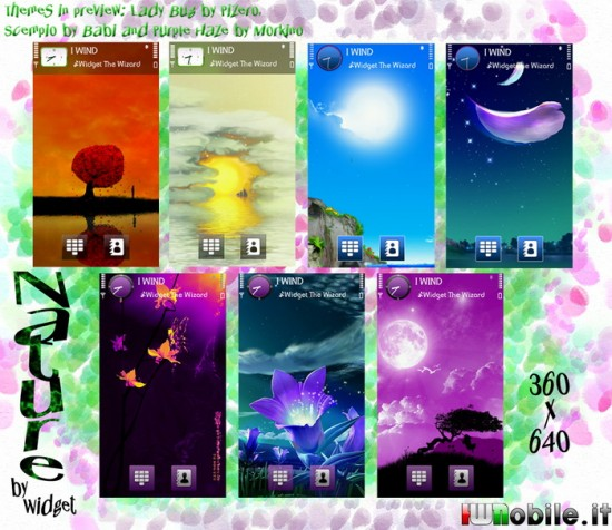 Nature Wallpapers For Nokia 5800 By Widget Nseries Themes